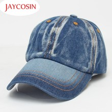 JAYCOSIN New Fashion Men Women Color Fading Style Demin Jeans Baseball Caps Unisex Hat 160614 Drop Shipping(China)