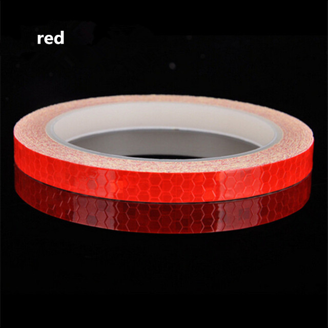Reflective Tape Fluorescent MTB Bike Bicycle Cycling MTB Reflective Stickers Adhesive Tape Bike Stickers Bicycle Accessories 2