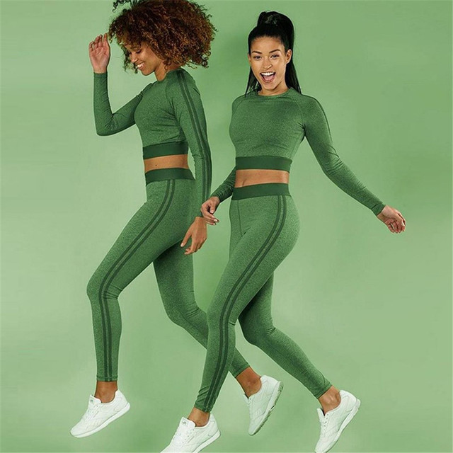 2 Pieces Running Sports Suit Set