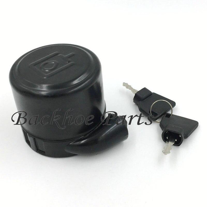 32 925421 Hydraulic Filler Cap Filter Cap with 2 keys for JCB Backhoe Loader JCB 3CX