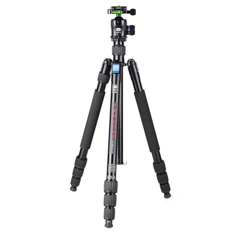Sirui Go Pro интимные аксессуары камера штатив Стенд + шаровой головкой комплект Алюминий Professional Unipod монопод Штатив для DSLR камер, Поворот 360 граду