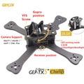 "DIY quadcopter FPV mini drone GEPRC GEP-TX chimpancé 3 k pure marco de fibra de carbono de 4 ""/5""/6 ""4mm placa principal inferior mejor que QAV-X QAVR"
