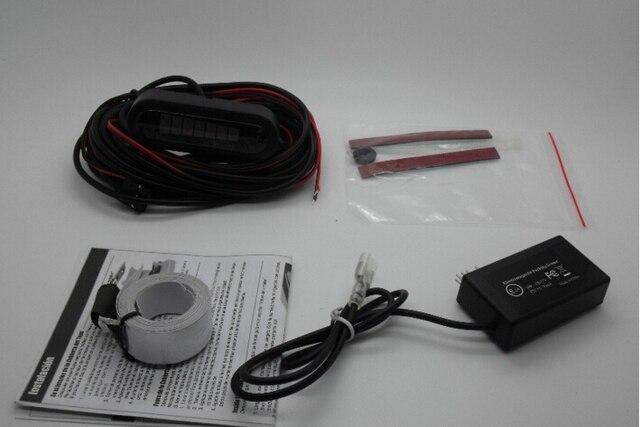 Electromagnetic parking sensor U302 car parking Assistance reverse parking sensor no holed no drilled better than U301