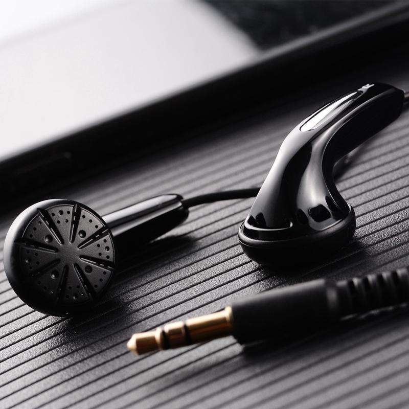 HANGRUI Qian25 Dynamic Flat Head Plug Earphone 3.5mm In ear Headset HIFI Earphone Bass Earbud For iphone xiaomi Smartphone MP3  (1)