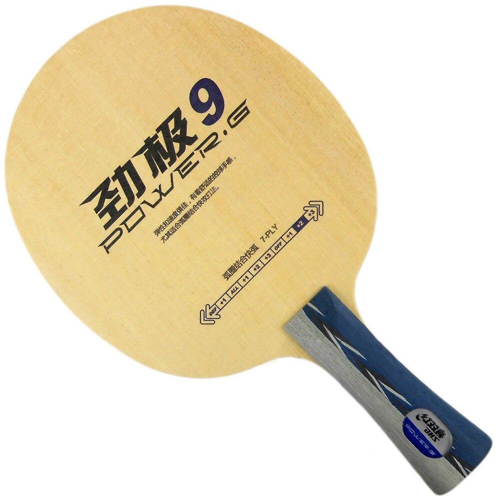 Original DHS POWER.G9 PG9 PG-9 PG.9 table tennis pingpong blade