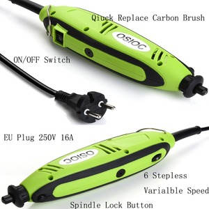 Image 5 - Mini perceuse électrique, outils Dremel, ciseleur pour le perçage, broyage, affûtage, coupe, ciselure, nettoyage, polissage, ponçage