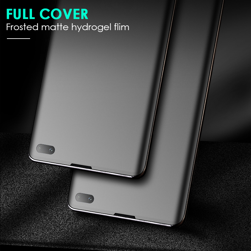 CHYI 3D Curved Matte Screen Protector Tempered Glass Film For Samsung Galaxy 2