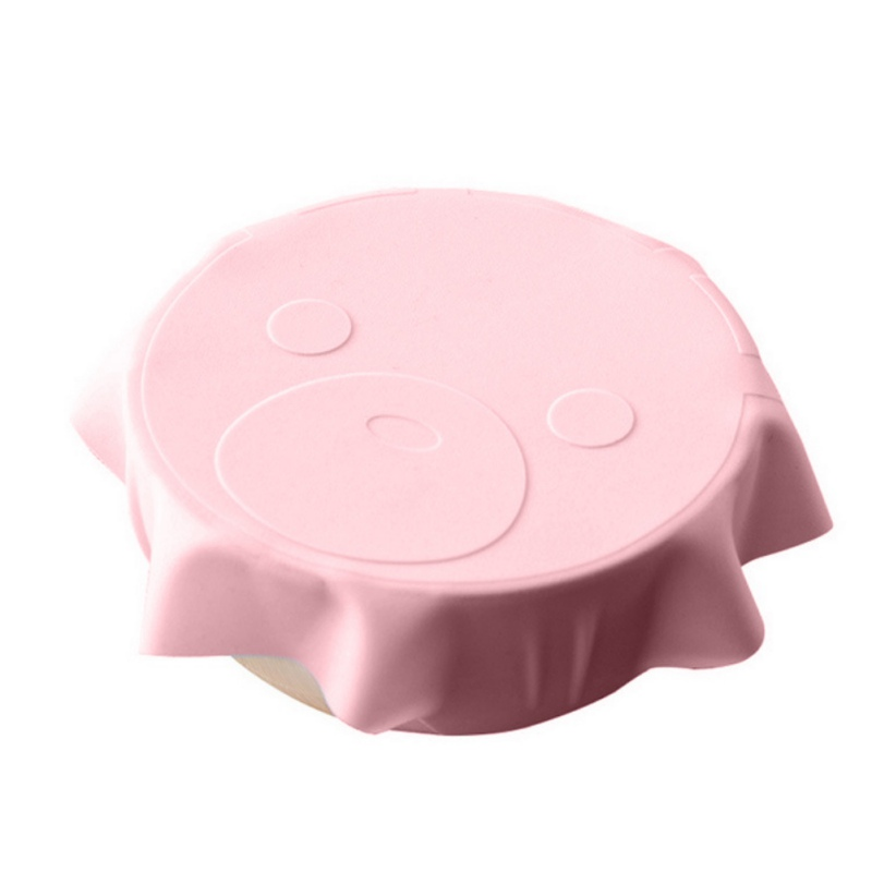 Image 5 - Cartoon Pattern Stretch Silicone Lid Reusable Fresh keeping Food Storage Covers Fit Various Sizes And Shapes Of Containers-in Fresh-keeping Lids from Home & Garden