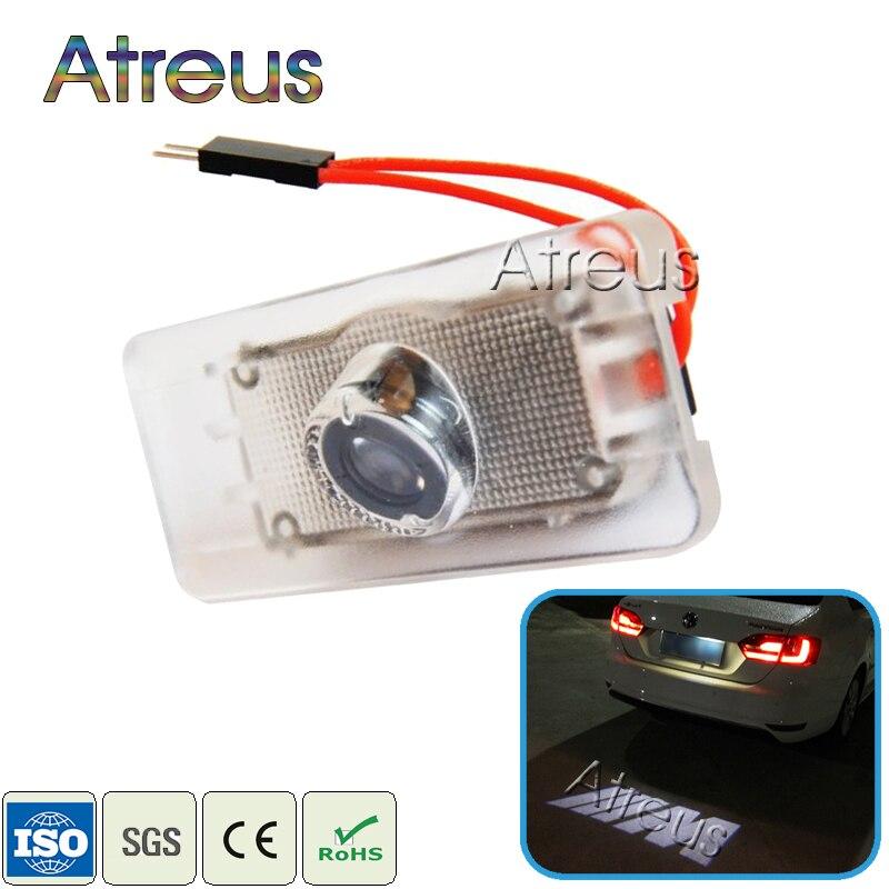 1 pcs Voiture LED Éclairage De Plaque D'immatriculation 12 v Canbus LED Logo projecteur Lampe Laser Pour BMW E46 E60 E36 e90 E30 F10 F30 X5 X3 X1 M Logo