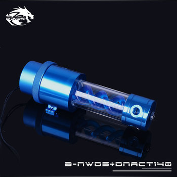 Bykski B-NWD5+DNACT, 140210mm T virus Reservoir With Pump , Flow Rate 1100LH , Multi-colored D5 Series Water Pump Маникюр