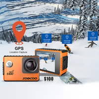 4K WIFI Action Camera UHD Waterproof DV Camcorder 2 0 Screen Gyro 12MP 30m Diving Outdoor