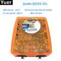 Controlador DMX Sunlite FC + DMX-USD Suite2 3X512 Canal ART-NET DJ KTV Disco Party Luz LED software de controle de Iluminação de palco
