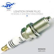 Marca (4X) vela de Ignição iridium BKR6EIX 2272 Carro liga da peça de automóvel