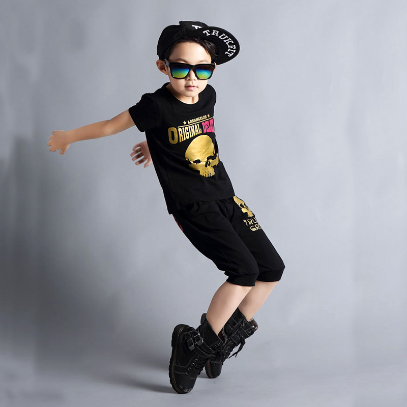 NEW Jazz dance costumes girls Children's clothing set cotton harem pants + T shirt 2pcs hip-hop kids boy clothes Set  streetwear карл фон клаузевиц принципы ведения войны