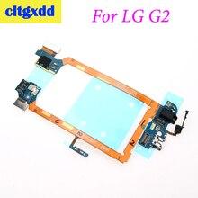 Cltgxdd Için LG G2 D802 yuva konnektörü Şarj Port USB flex kablo Kulaklık Jack Mikrofon Güç on/off Düğmesi