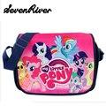 My Little Pony Niña Bolsa de La Escuela de Lona Mochila Niños Encantadores de la Historieta Bolsa de Mensajero de La Taleguilla