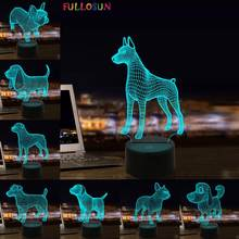 Светодиодсветодиодный настосветильник лампа для собак щенков