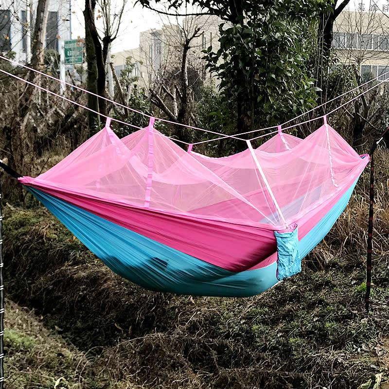 pink-Blue-mosquito-net-hammock