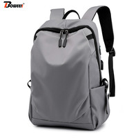 f0dc8f0e56ebe USB Charging Men Backpack Oxford Waterproof Student School Bags For Teenager  Boy Laptop Back Pack Large
