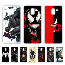 Venom Case For Coque Samsung Galaxy J6 2018 Cover EU J600 J600F SM-J600F Soft Silicone Phone Back sFor