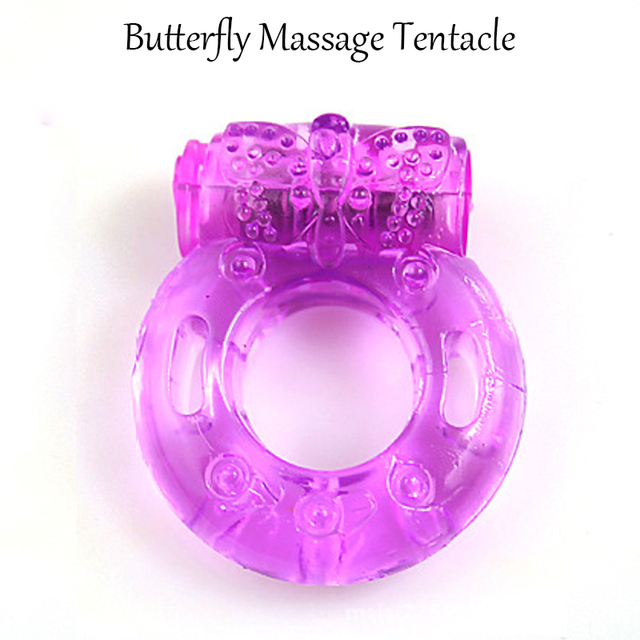 Davidsource Vibrating Cock Ring 1 Piece Silicone Penis Ring With Vibrator Stay Erection Ejaculation Lock For ED Men Sex Toy