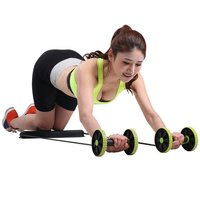 Gym Fitness Multifunction Abdominal Trainer Build Curve Body Portable Sport Pull Rope Health Muscle Home Training