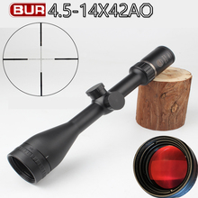 Famous B Brand 4.5-14x42 Riflescope Hunting Scope Hunting optics Red dot Chasse Aim Hunter Gun Caza Accessory hunting scope zeiss conquest optical sight hunting 4 16x44 aomc riflescope hunting scopes for chasse aim scope gun caza accessory