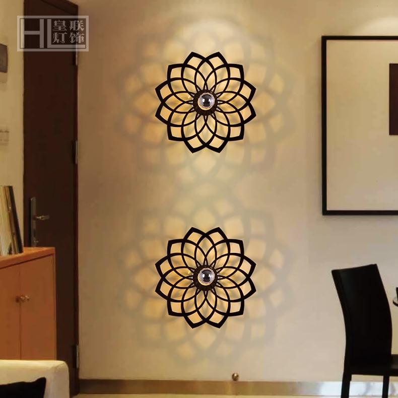 exclusieve europese minimalistisch design moderne kunst wandlamp ...
