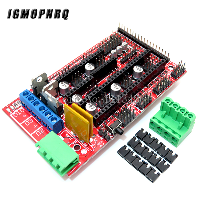 Top SaleDriver-Module RAMPS 12864-Controller 3d-Printer-Kit Stepper 2560 R3 Mega A4988/DRV8825