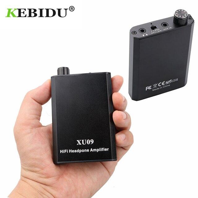 Kebidu מיני HiFi מגבר אוזניות נייד דיגיטלי באיכות גבוהה Amp סטריאו מוסיקה להגביר אודיו נייד