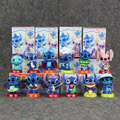 12 styles  Lilo & Stitch Stitch PVC Figure Modle 6.5cm Children Toys For Gift Or Decoration Free Shipping