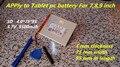 La Nueva Batería de 5500 mAH Li-ion batería de Tablet pc Para 7,8, 9 pulgadas tablet PC ICOO 3.7 V De iones de litio Polímero De Alta calidad