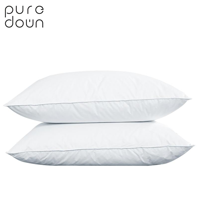Puredown Goose Down Pillow Environment Friendly Goose Down