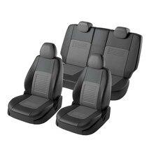 Для Mitsubishi ASX 2011-2019 Комплект модельных авточехлов Модель Турин экокожа