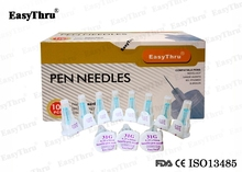 200pcs 2 box medical diabetic use Professional Home Health care Diabetes pen needle single use medical science cheap EasyThru Diabetic needle medical science 32G*4mm