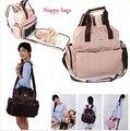 Бесплатная доставка Многофункциональный мумия подгузник сумки большой емкости одноместный двухместный плечо путешествия детские пеленки мешок infanticipate мешок
