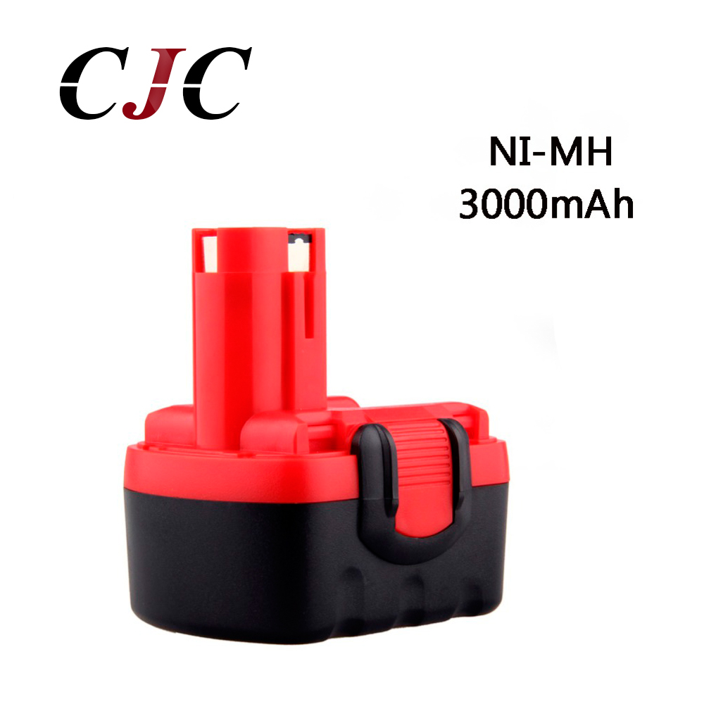 BAT038 BAT040 14.4V 3000mAh NI-MH Rechargeable Battery Pack Power Tools Battery Cordless Drill Replacement for Bosch 3660CK 24v 3000mah 3 0ah rechargeable battery pack power tools batteries cordless drill ni mh battery for makita bh2430 bh2433