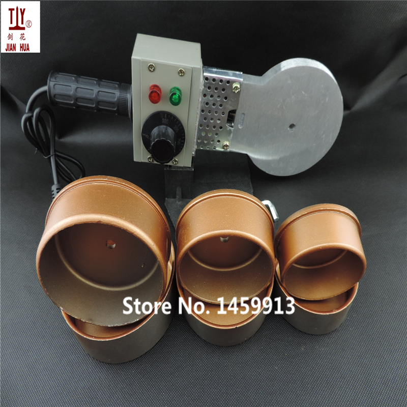 DN75-110mmPlastic Welder Temperature Control Welding Machine Ppr Pipe Tube 1000W 220V Machine And Die Head Paper Box
