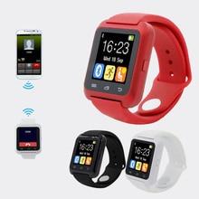 Smartwatch Bluetooth Smart Watch U80 for iPhone IOS Android Smart Phone Wear Clock Wearable Device Smartwach PK U8 GT08 DZ09