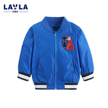 Kids Clothes LAVLA 2016 Autumn New Children Woven Long Sleeved Top Baby Boy Clothes Jacket Baby Girl Clothes Coat Kids Shirt