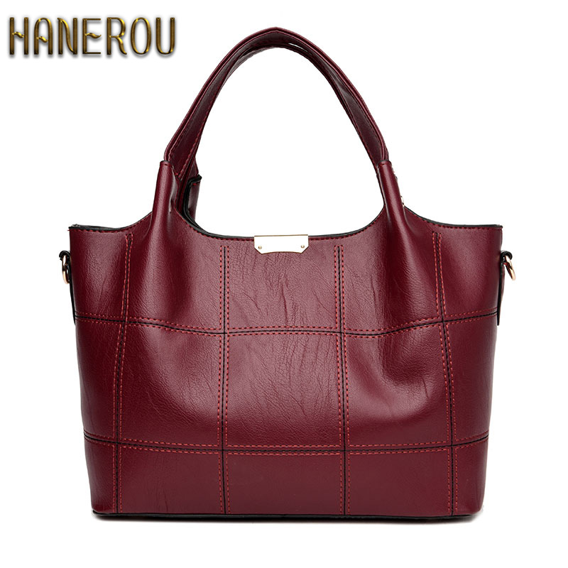 Bolsa Feminina Aliexpress : Bolsa feminina preta fashion pu leather women bag designer