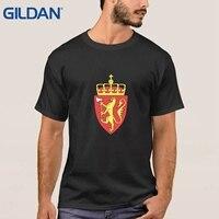 Yenilik T-Shirt Satış Norveç Kaplayın Silah Beyaz Kalça-Tope Tee T Gömlek Erkekler Artı Boyutu 3xl O Boyun marka-Giyim Pamuk