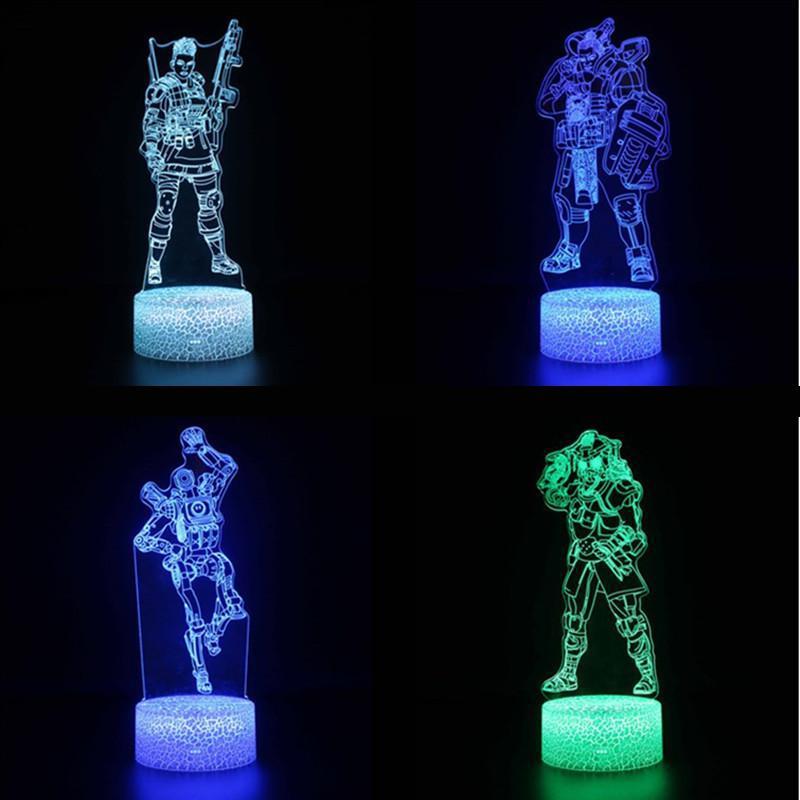 Tisch Lampen Für Wohnzimmer Remote Touch Usb Und Batterie Netzteil Schreibtisch Lampe 7 Farbe Ändern Beleuchtung Tisch Licht SchöN In Farbe Led-lampen Licht & Beleuchtung