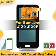 Super AMOLED For Samsung Galaxy J120 J120F LCD display touch screen J1 J120DS J120G J120M J120H pantalla replacement digitizer