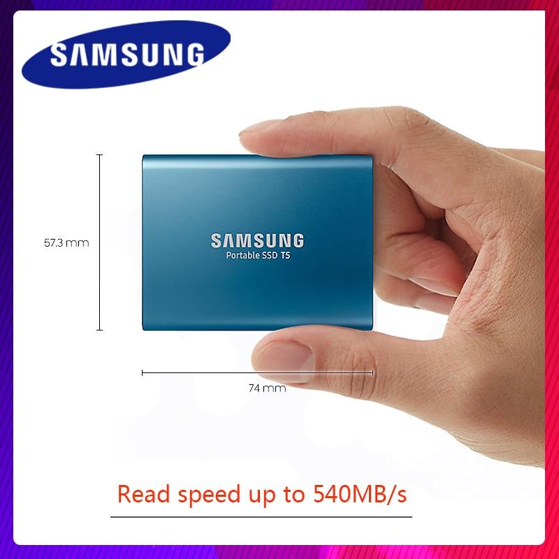 Samsung External SSD T5 2T 1T 500GB 250GB External Solid State HD Hard Drive USB 3