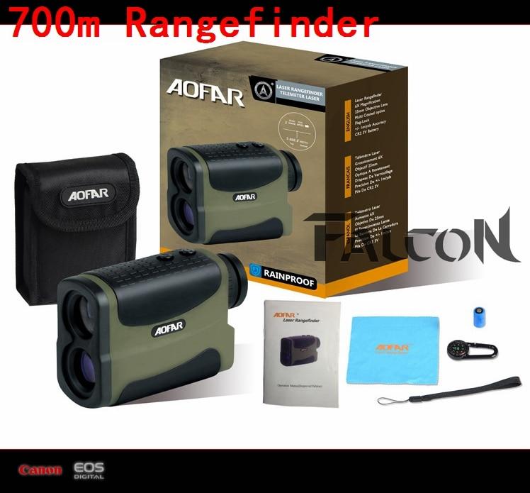 купить 10X25 5-700M Laser Rangefinder 700m/yard Laser Range Finder Monocular Distance Meter Golf Rangefinders Measure Laser Distance недорого