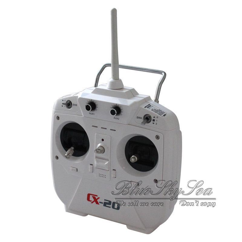 Free Shipping Remote Controller For Cheerson CX 20 RC Quad Drone Toys Transmitter Spare Parts