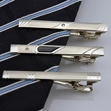 2016Multi Styles Gentleman Silver Metal Simple Necktie Tie Clip Bar Pin 77IH 89EW