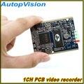 1CH mini dvr modul HD XBOX DVR Platine bis zu D1 (704*576) 30fps unterstützung 32 GB sd-karte