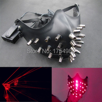 Free Shipping 25PCS laser mask half face mask red laser mask For Christmas mask Festive & Party Supplies Home Appliance Parts